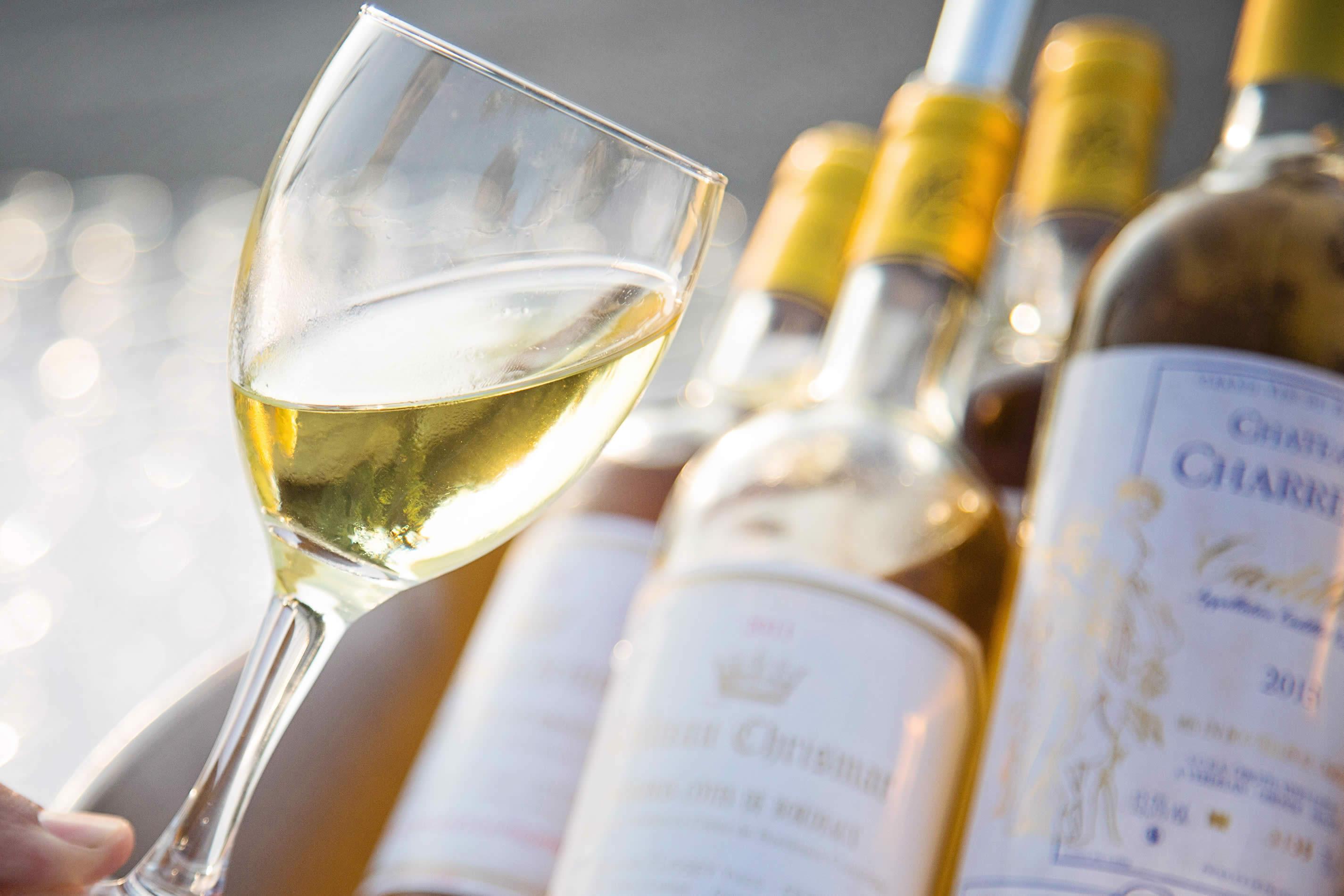 Sainte Croix du Mont Vin blanc moelleux