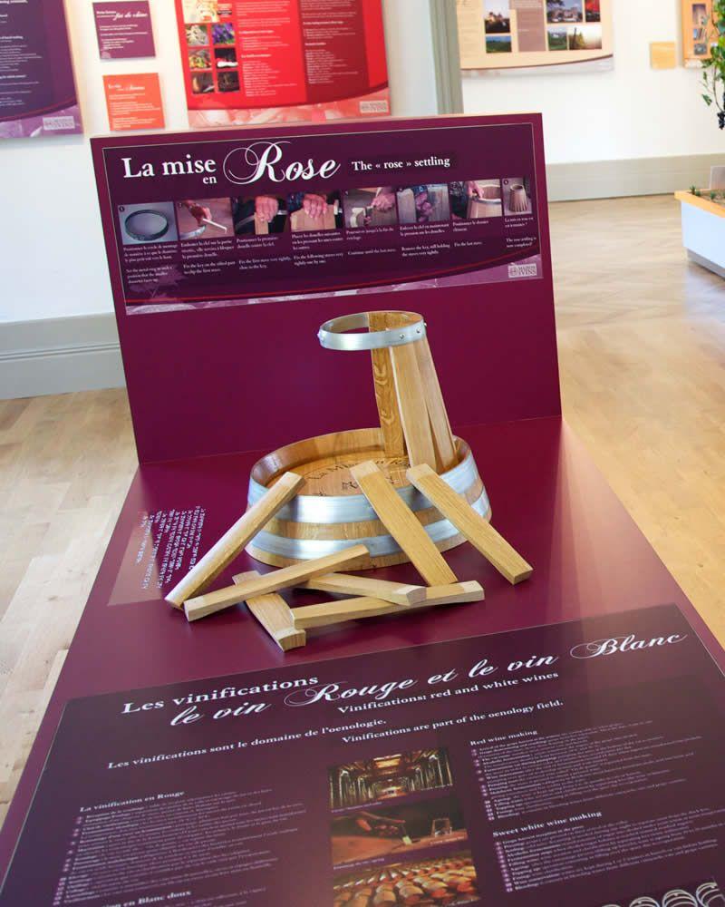 La mise en Rose | Musée de la Vigne et du Vin de Cadillac
