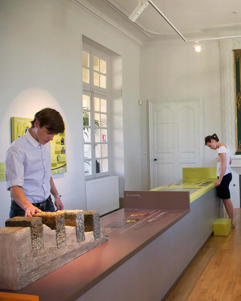 Salles du Musée de la Vigne et du Vin de Cadillac
