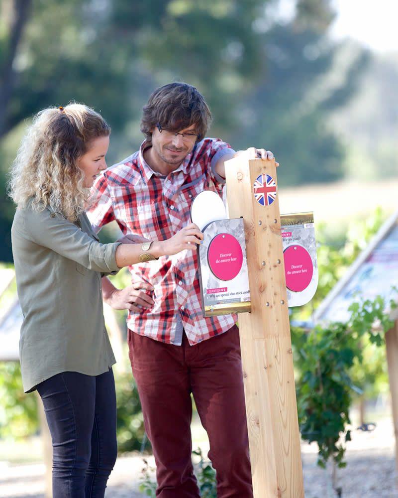 Parcours initiatique dans la vigne