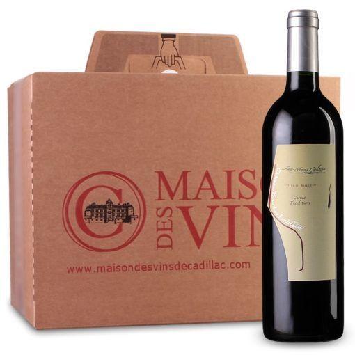 Clos Bourdieu Fonbille - Côtes de Bordeaux - Carton de 6 bouteilles
