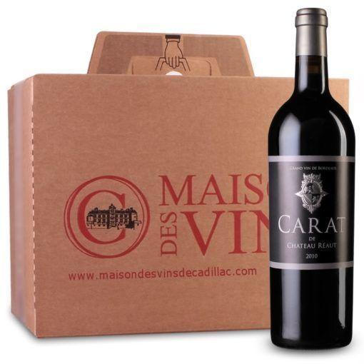 Carat de Château Réaut - Côtes de Bordeaux - Cartons de 6 bouteilles