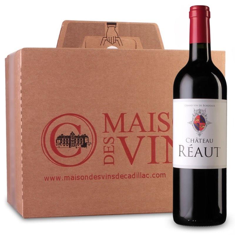 Château Réaut - Côtes de Bordeaux - Carton de 6 bouteilles
