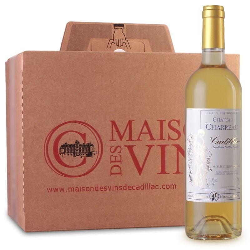 Château Charreau - Maison des vins de Cadillac - Carton de 6 bouteilles