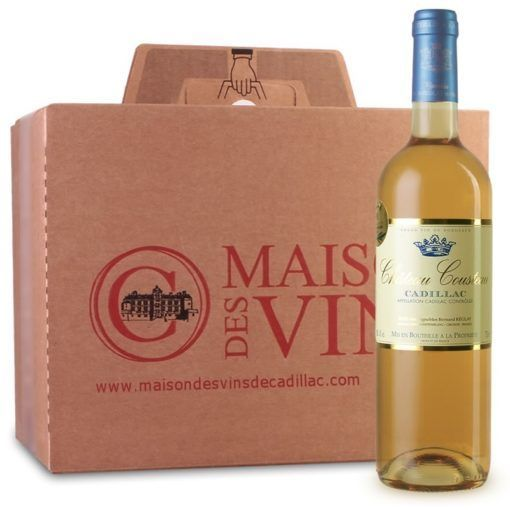 Château Cousteau - Maison des vins de Cadillac - Carton de 6 bouteilles