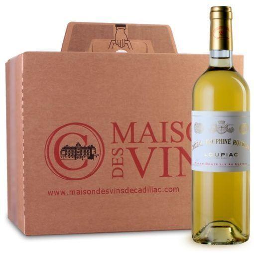 Château Dauphiné Rondillon - Loupiac - Maison des vins de Cadillac - Carton de 6 bouteilles