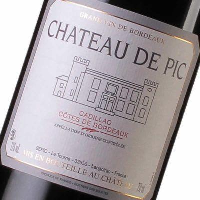 Château de Pic - Côtes de Bordeaux - Maison des Vins de Cadillac