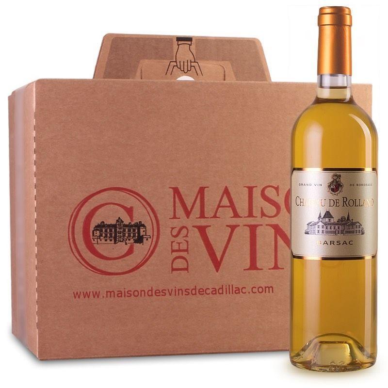 Château de Rolland - Barsac - Carton de 6 bouteilles