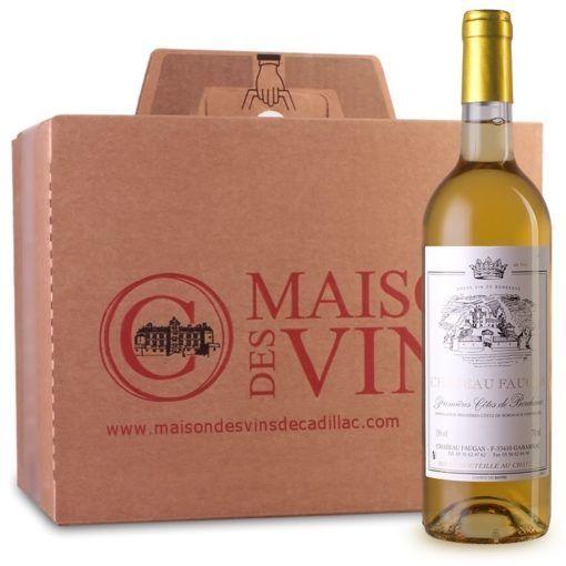 Château Faugas - Maison des vins de Cadillac - Carton de 6 bouteilles