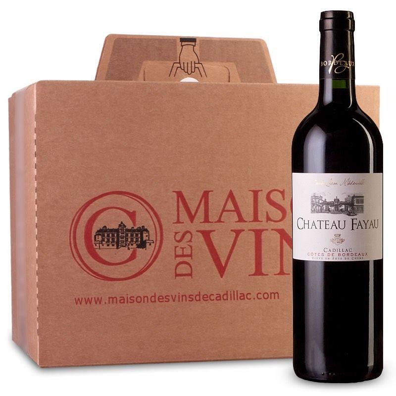 Château Fayau Cuvée Jean Medeville - Cadillac Côtes de Bordeaux- Carton de 6 bouteilles