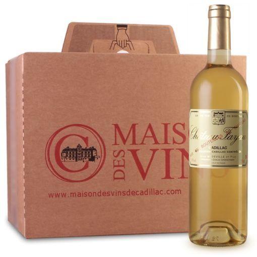Château Fayau - Maison des vins de Cadillac - Cartons de 6 bouteilles