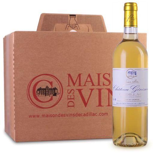 Château Génisson - Maison des vins de Cadillac - Carton 6 bouteilles