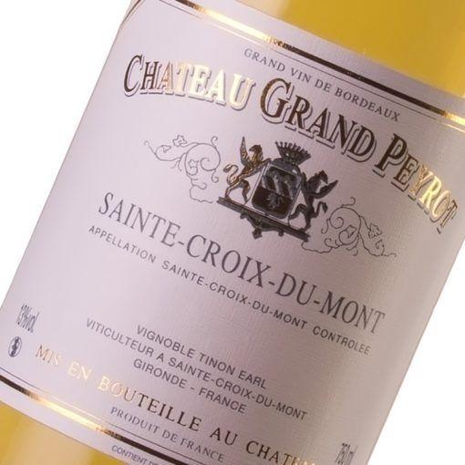 Château Grand Peyrot - Sainte-Croix-du-Mont - Vin blanc doux