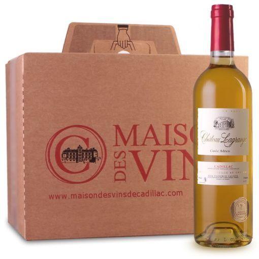 Château Lagrange - Maison des vins de Cadillac - Carton de 6 bouteilles