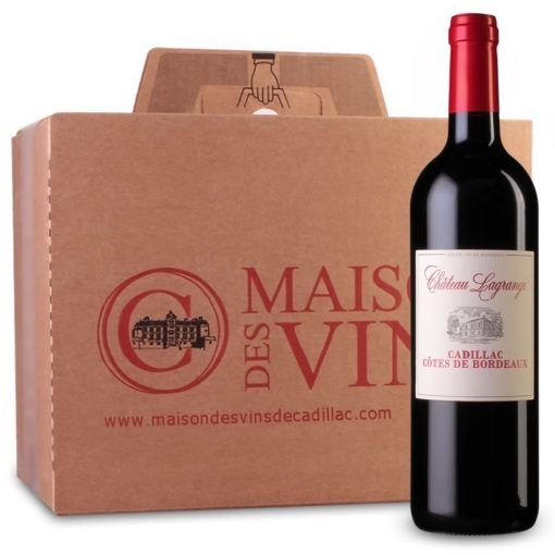Château Lagrange - Cadillac Côtes de Bordeaux - Carton de 6 bouteilles