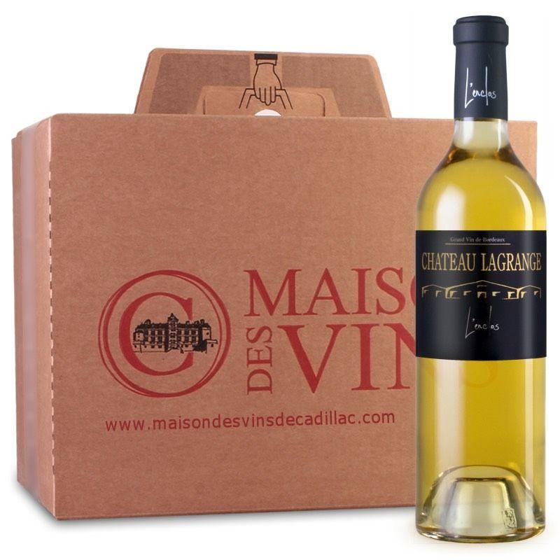 Château Lagrange L'Enclos - Cadillac - Maison des Vins de Cadillac - Carton de 6 bouteilles