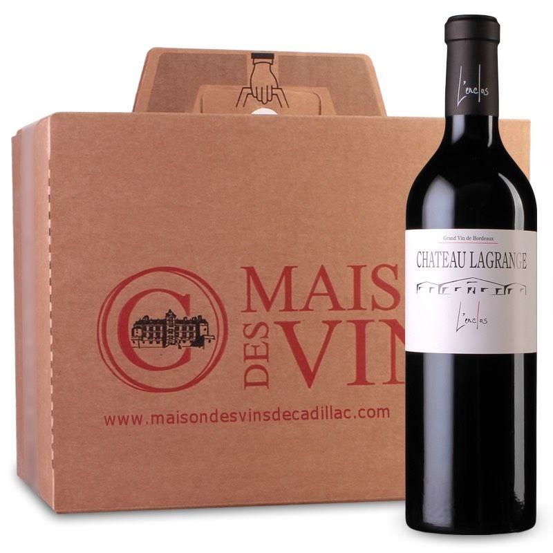 Château Lagrange L'enclos - Côtes de Bordeaux - Carton de 6 bouteilles
