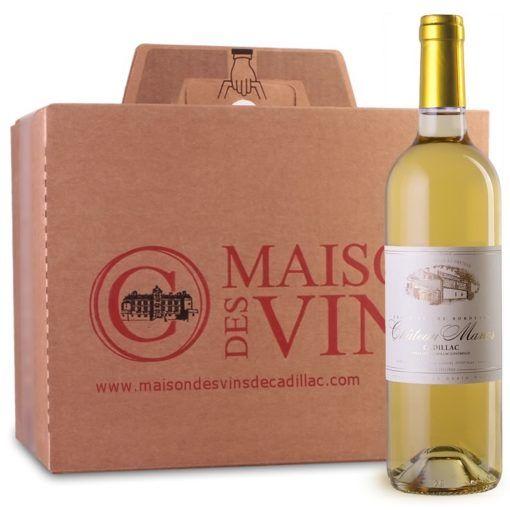 Château Manos - Maison des vins de Cadillac - Vins Blancs - Carton de 6 bouteilles