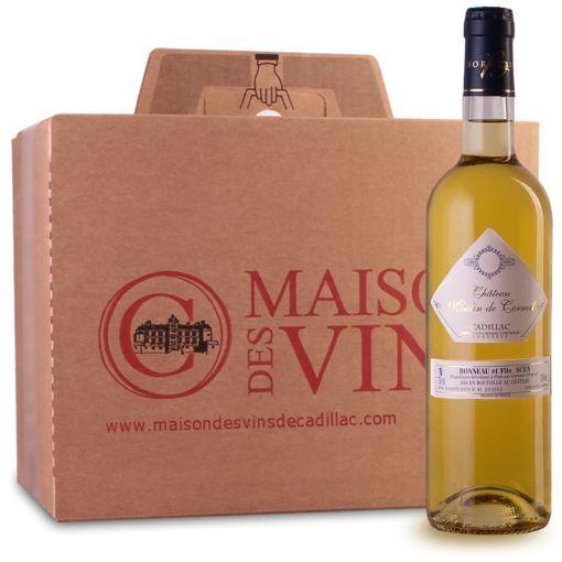 Château Moulin de Corneil - Maison des vins de Cadillac - Carton de 6 bouteilles