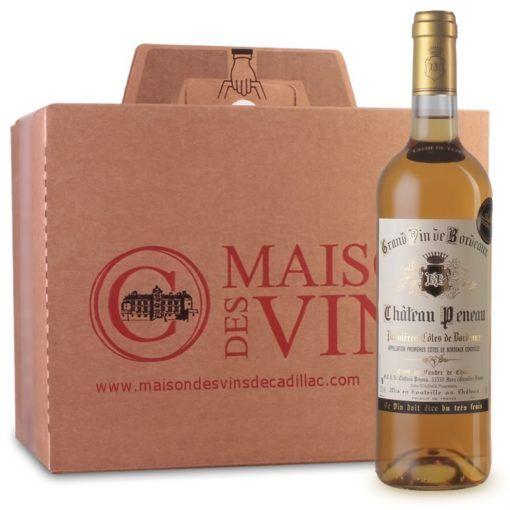 Château Peneau - 1ères cotes de bordeaux - Carton de 6 bouteilles