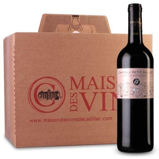 Château Petit Guillot - Côtes de Bordeaux - Carton de 6 bouteilles