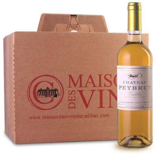 Château Peybrun - Maison des vins de Cadillac - Vins Blancs Carton de 6 bouteilles
