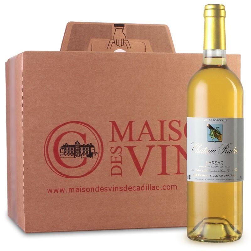 Château Piala - Maison des Vins de Cadillac - Carton de 6 bouteilles