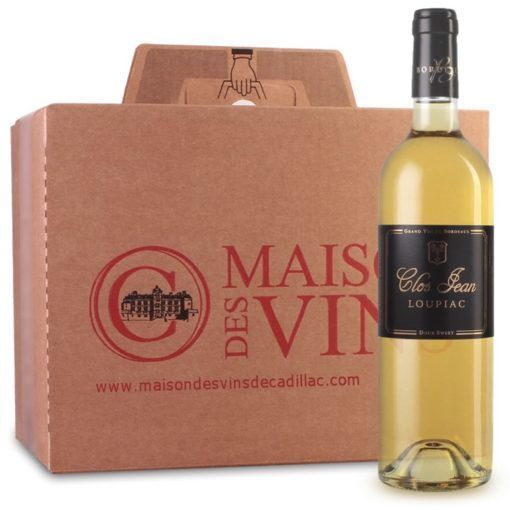 Clos Jean - Maisons des vins de Cadillac - Carton de 6 bouteilles