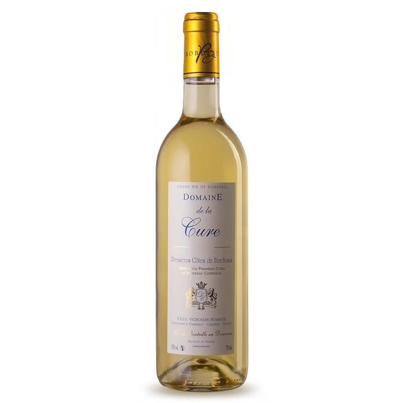 Domaine de la Cure - Premières Côtes de Bordeaux - Maison des Vins - Bouteille