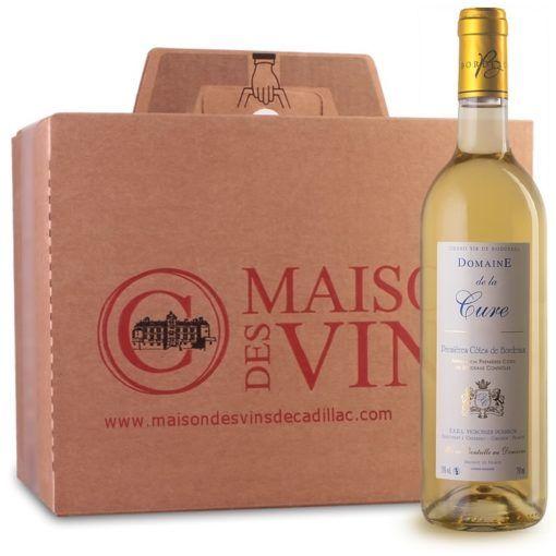 Domaine de la Cure - Premières Côtes de Bordeaux - Maison des Vins - Carton de 6 bouteilles