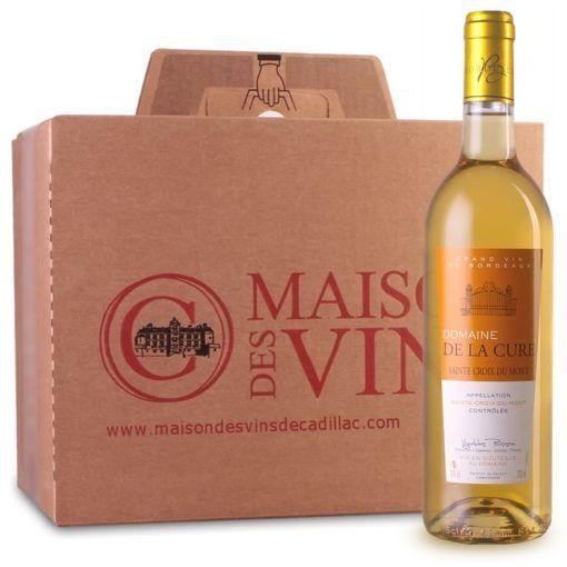 Domaine de la Cure - Sainte-Croix-du-Mont - Carton de 6 bouteilles