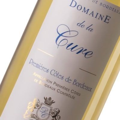 Domaine de la Cure - Premières Côtes de Bordeaux - Maison des Vins