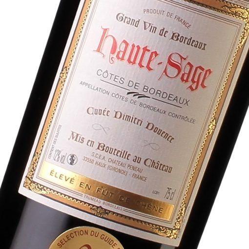 Château Haut Sage - Côtes de Bordeaux - Maison des Vins de Cadillac