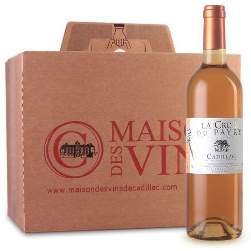 La Croix du Payre - Maison des vins de Cadillac - Carton 6 bouteilles