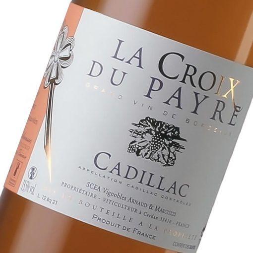 La Croix du Payre - Maison des vins de Cadillac - Etiquette