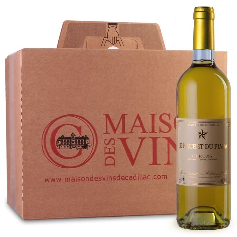 Hauret de Piada - Cérons- Maison des vins de Cadillac - Carton de 6 bouteilles