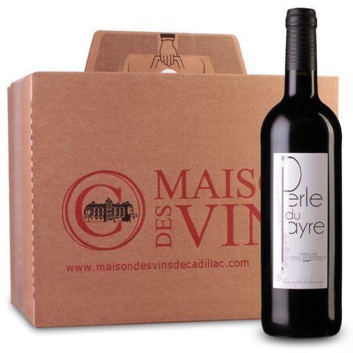 La Perle du Payre - Cadillac Côtes de Bordeaux - Carton de 6 bouteilles