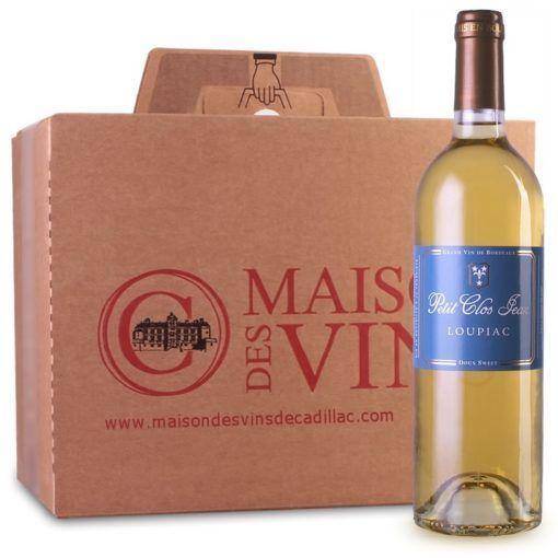 Petit Clos Jean - Loupiac - Maison des vins de Cadillac - Carton de 6 bouteilles
