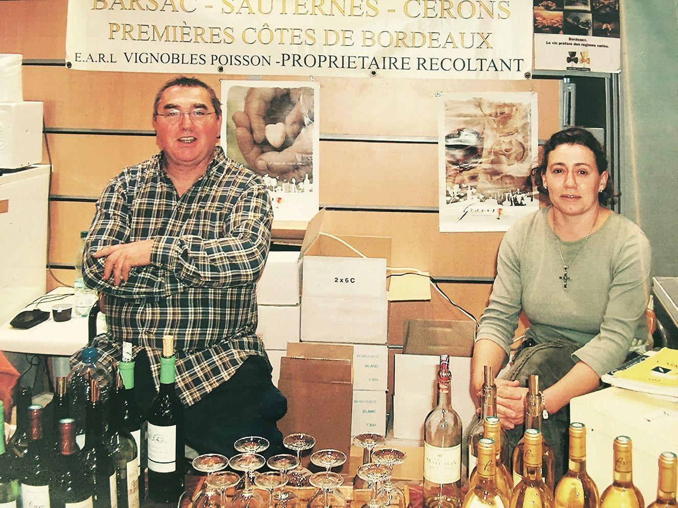 Pierre-Franck et Muriel Poisson