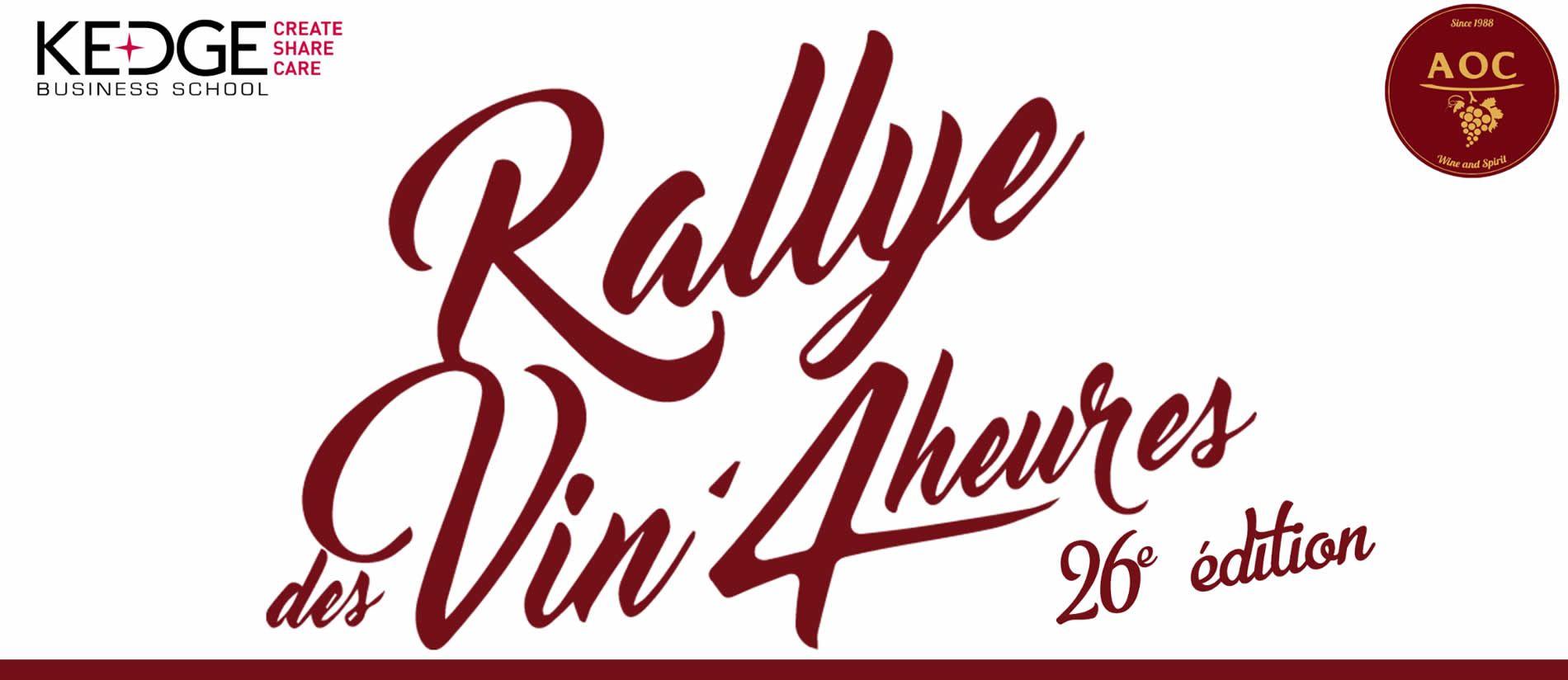 Rallye des vin 4 heures