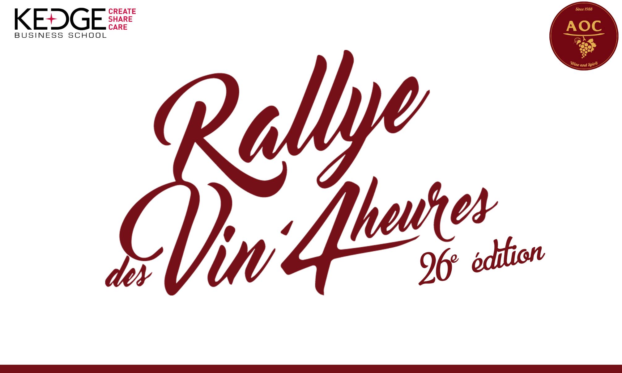 Le Rallye des Vin'4 heures