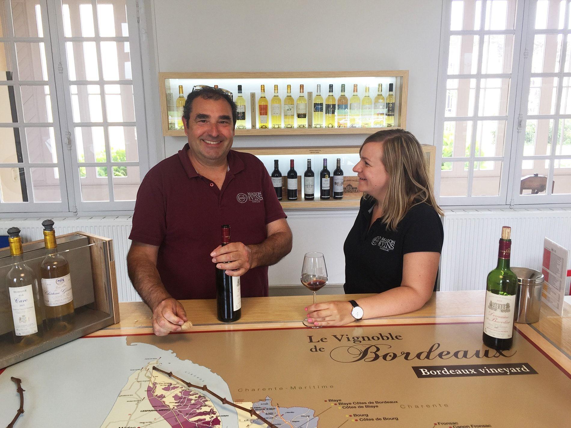 Pierre Lambert - Maison des Vins de Cadillac