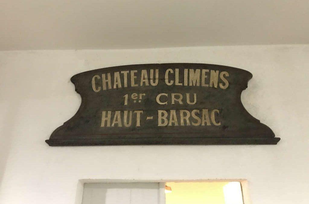 Best of Wine Tourism : 1ère rencontre au Château Climens