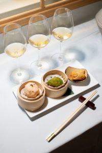soirée asiatique vin blanc doux