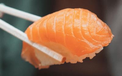 Recette des sushis au saumon