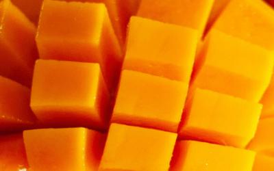 Verrines de mangues épicés