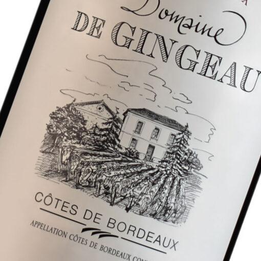 Etiquette Domaine De Gingeau